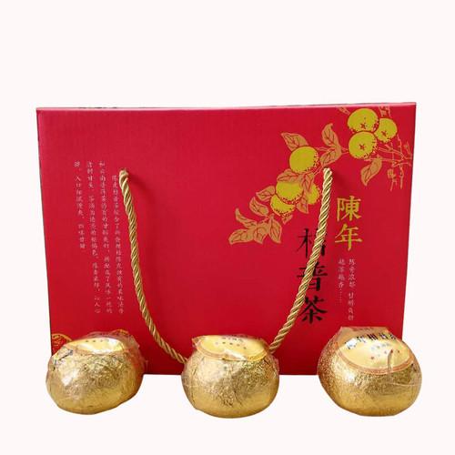 MINGNABAICHUAN Brand A Grade Xiao Gan Ju Chenpi Orange Pu'er Yunnan Pu-erh Tea Stuffed Tangerine Ripe 2017 500g