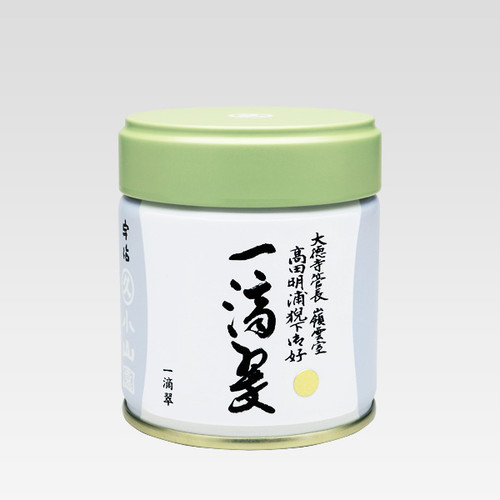 Marukyu Koyamaen Gold Label One Drop Green Matcha Powered Green Tea 40g