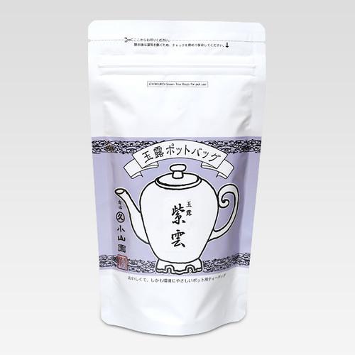 Marukyu Koyamaen Pot bag Gyokuro Shiun Homare Honor Green Tea 40g
