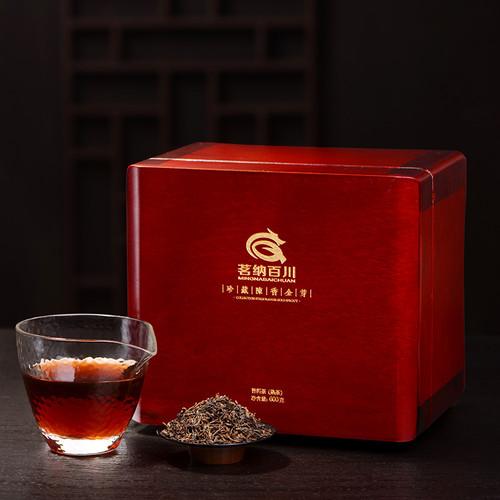 MINGNABAICHUAN Brand Zhencang Chenxiang Golden Bud Pu-erh Tea Loose 2015 600g Ripe