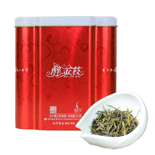 COLOURFUL YUNNAN Brand Zui Jin Zhi Dian Hong Yunnan Black Tea 150g