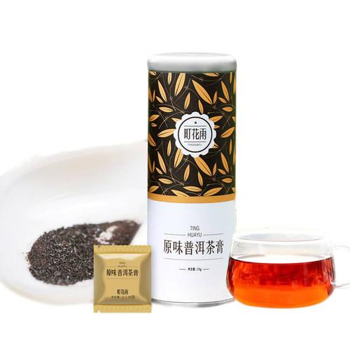 MINGNABAICHUAN Brand Ting Hua Yu Instant Yuan Wei Pu-Erh Tea Essence Powder 15g Ripe