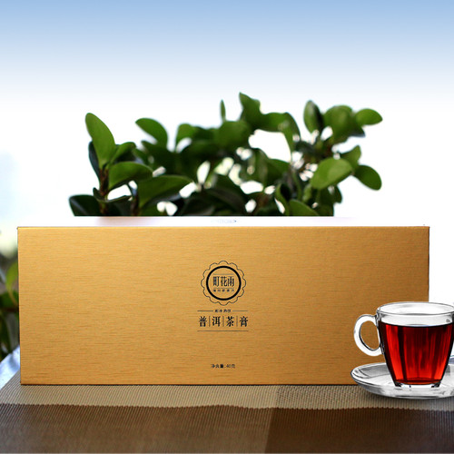 MINGNABAICHUAN Brand Ting Hua Yu Instant Gold Card Pu-Erh Tea Essence Powder 40g Ripe
