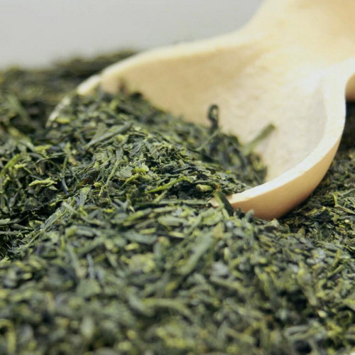Premium Organic Yame Sencha Deeply Steamed Japanese Green Tea 500g