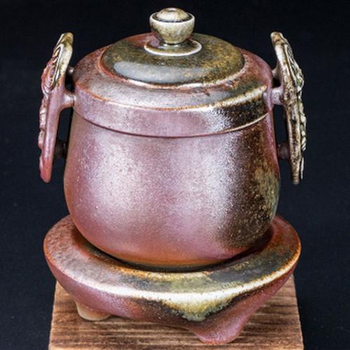 Lie Yan Zhan Shen Handmade Wood-Fired Ceremic Teapot