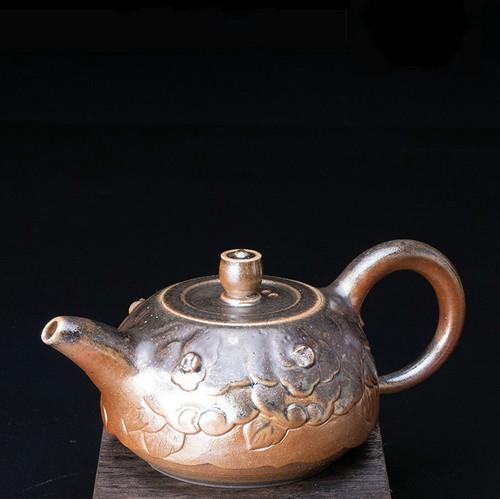 Ice Smoke Handmade Wood-Fired Ceremic Teapot
