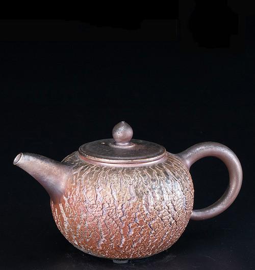 Burst Handmade Wood-Fired Ceremic Teapot