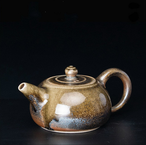 Wu Jin Wei Handmade Wood-Fired Ceremic Teapot