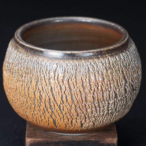Chai Shao Fu Bao Handmade Wood-Fired Ceremic Cha Xi Gongfu Tea Ceremony Water Bowl