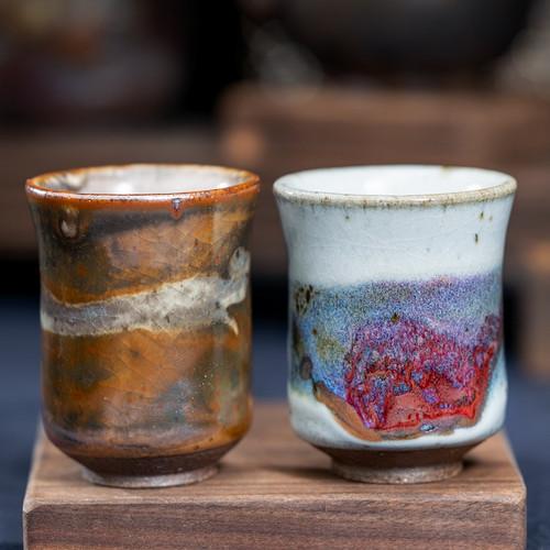 Zhi Ye Handmade Wood-Fired Ceremic Gongfu Tea Tasting Teacup
