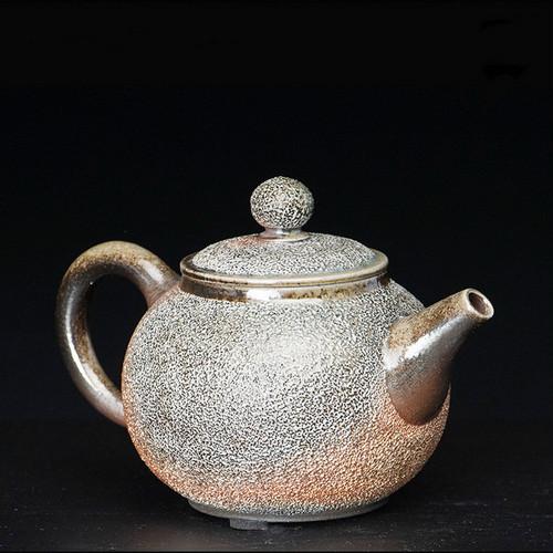 Liu Meng Han Bing Yan Handmade Wood-Fired Ceremic Teapot