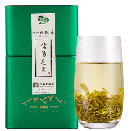 ZHENGXINGDE Brand Premium Grade Xin Yang Mao Jian Xinyang Downy Tip Chinese Green Tea 100g