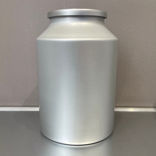 Aluminum Food Grade Containers with Double Lids for Store Tea 3L