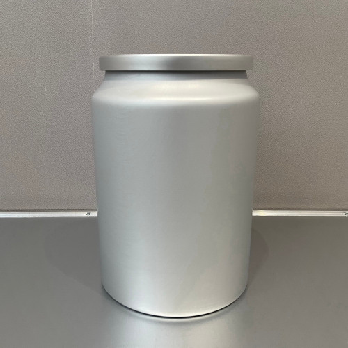 Aluminum Food Grade Containers with Double Lids for Store Tea 5L