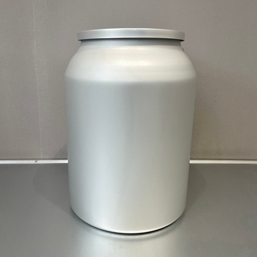 Aluminum Food Grade Containers with Double Lids for Store Tea 15L