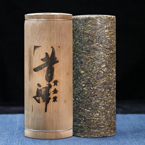 CAICHENG Brand Xi Gui Huang Jin Ye Pu-erh Tea Cylinder 2020 1000g Raw