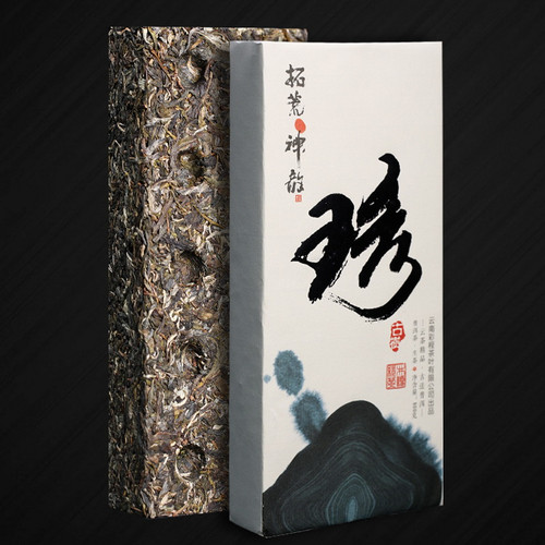 CAICHENG Brand Xuan 1 Ancient Tree Pu-erh Tea Brick 2020 800g Raw