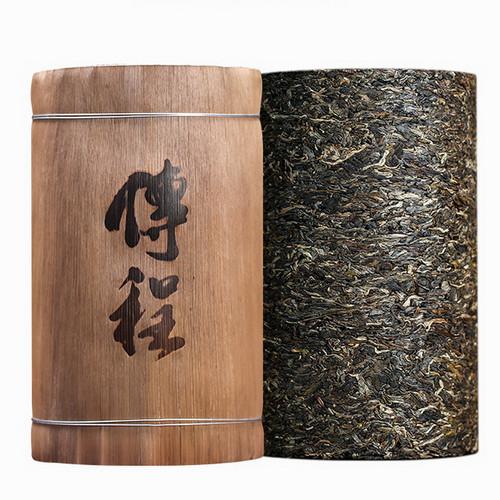 CAICHENG Brand Chuan Cheng Long Zhu Pu-erh Tea Cylinder 2020 2000g Raw