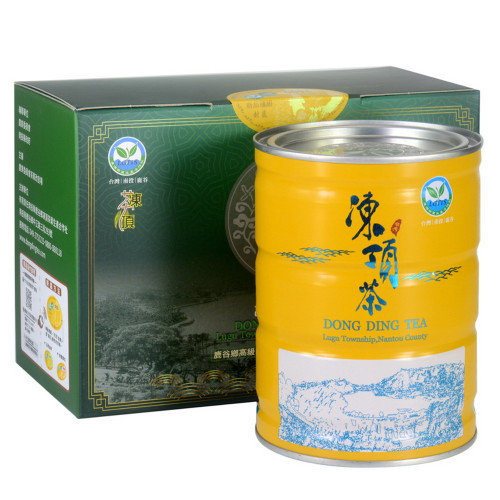 Three-Plum-Flower Taiwan Competition Grade Dong Ding Tea 300g Tin
