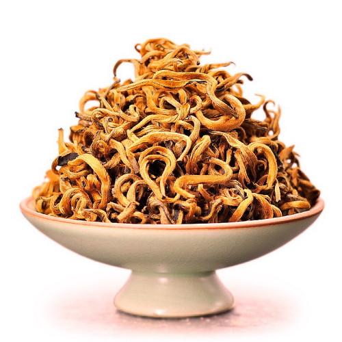 Supreme Organic High Mountain Golden Buds Dian Hong Yunnan Gold Black Tea 500g