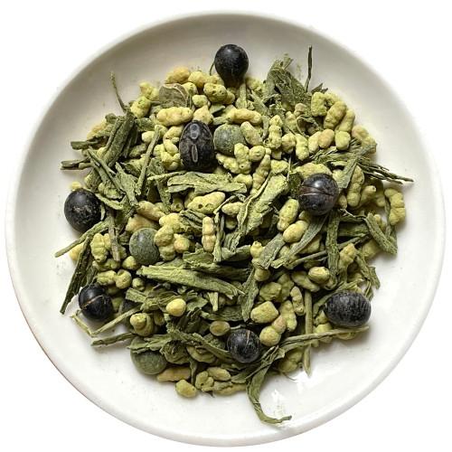 Matcha Black Bean Rice Tea Japan Soybean Genmaicha 500g