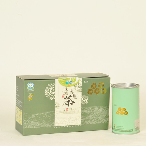 Five-Plum-Flower Qing Xin Group Taiwan Competition Dong Ding Oolong Tea 200g
