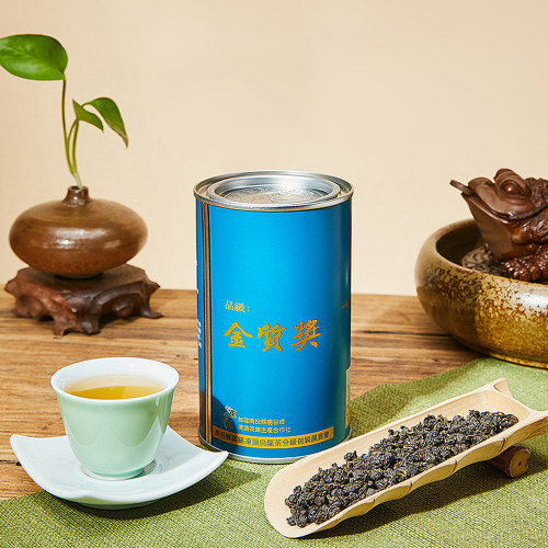 Gold Award Qing Xin Group Taiwan Competition Dong Ding Oolong Tea 200g