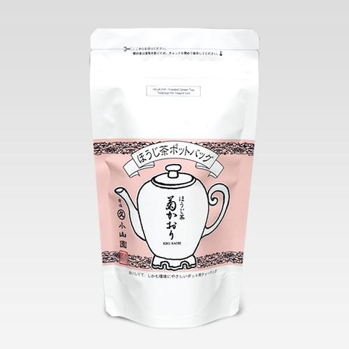 Marukyu Koyamaen Pot bag Hojicha Kiku Kaori 100g