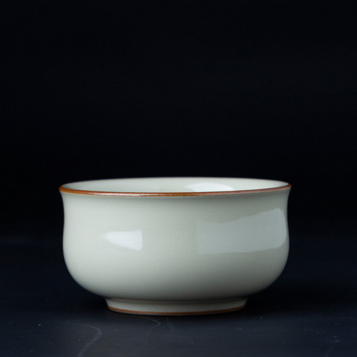 Ru Yao Goose Yellow Porcelain Teacup 110ml