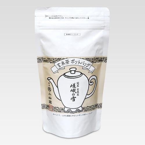 Marukyu Koyamaen Pot bag Genmaicha Saga no Yuki 80g