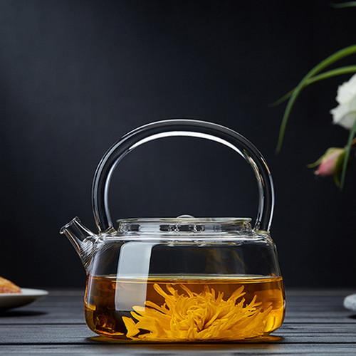 Ban Yue Glass Lead Free Borosilicate Heat Resistant Teapot