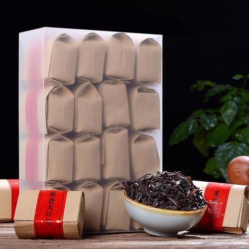 YANZHIYE Brand Guo Xiang Premium Grade Da Hong Pao Fujian Wuyi Big Red Robe Oolong Tea 256g