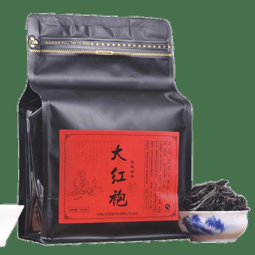 YANZHIYE Brand Nong Xiang Da Hong Pao Fujian Wuyi Big Red Robe Oolng Tea 500g