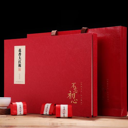 YANZHIYE Brand Premium Grade Potpourri Da Hong Pao Fujian Wuyi Big Red Robe Oolng Tea 240g