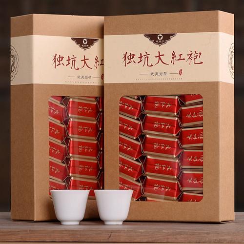 YANZHIYE Brand Du Keng Da Hong Pao Fujian Wuyi Big Red Robe Oolong Tea 250g*2