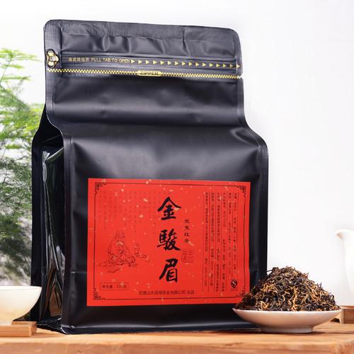 YANZHIYE Brand Premium Grade Jin Jun Mei Golden Eyebrow Wuyi Black Tea 500g