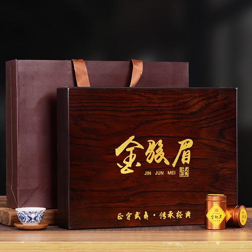 YANZHIYE Brand Chuan Cheng Classic Jin Jun Mei Golden Eyebrow Wuyi Black Tea 300g