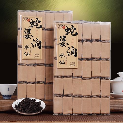 YANZHIYE Brand She Po Jian Lao Cong Shui Xian Rock Yan Cha China Fujian Oolong Tea 250g*2
