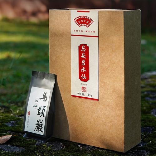 YANZHIYE Brand Ma Tou Yan Shui Xian Rock Yan Cha China Fujian Oolong Tea 125g*4