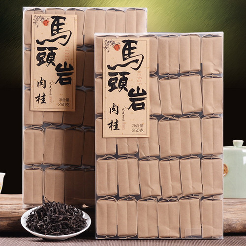 YANZHIYE Brand Ma Tou Yan Rou Gui Wuyi Cinnamon Oolng Tea 250g*2
