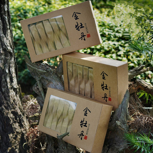 YANZHIYE Brand Gold Peony Jin Mu Dan Roasted Fujian Wuyi Rock Tea Oolng 500g