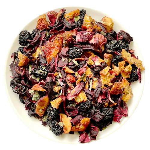 Black Currant Assorted Dried Fruits Herbal Tea 500g