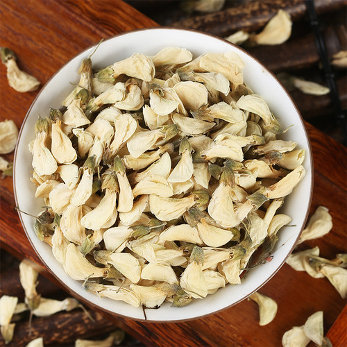 Premium Wild Dried Huai Hua Pagoda Tree Sophora Japonica Flowers Herbal Tea 500g