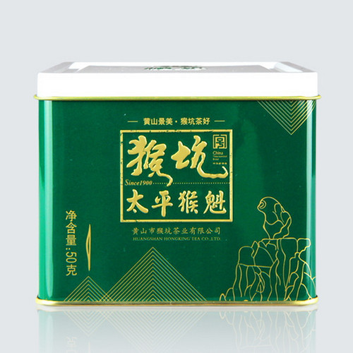 HONG KING TEA Brand Yu Qian 1st Grade Tai Ping Hou Kui Monkey King Green Tea 50g