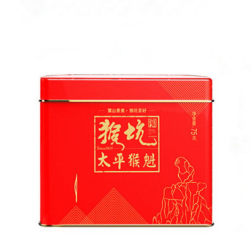 HONG KING TEA Brand Pinch Tip Yu Qian 1st Grade Tai Ping Hou Kui Monkey King Green Tea 75g