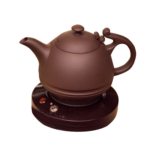 LTS Yixing Clay Ceramic Water Kettle Electric Auto Stove Set 1.5L 220V