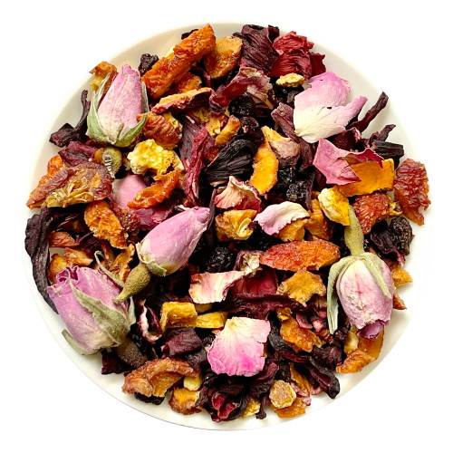 Sweet Rose Assorted Dried Fruits Herbal Tea 500g
