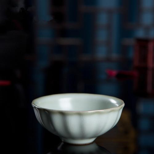 Begonia Kiln Ice Cracked Glaze Ceramic Gongfu Tea Tasting Teacup