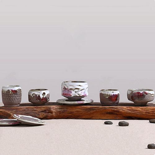Zhi Ye Shao 321 Ceramic Gongfu Tea Tasting Teacup