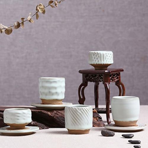 Zhi Ye Shao CYJ005 Ceramic Gongfu Tea Tasting Teacup